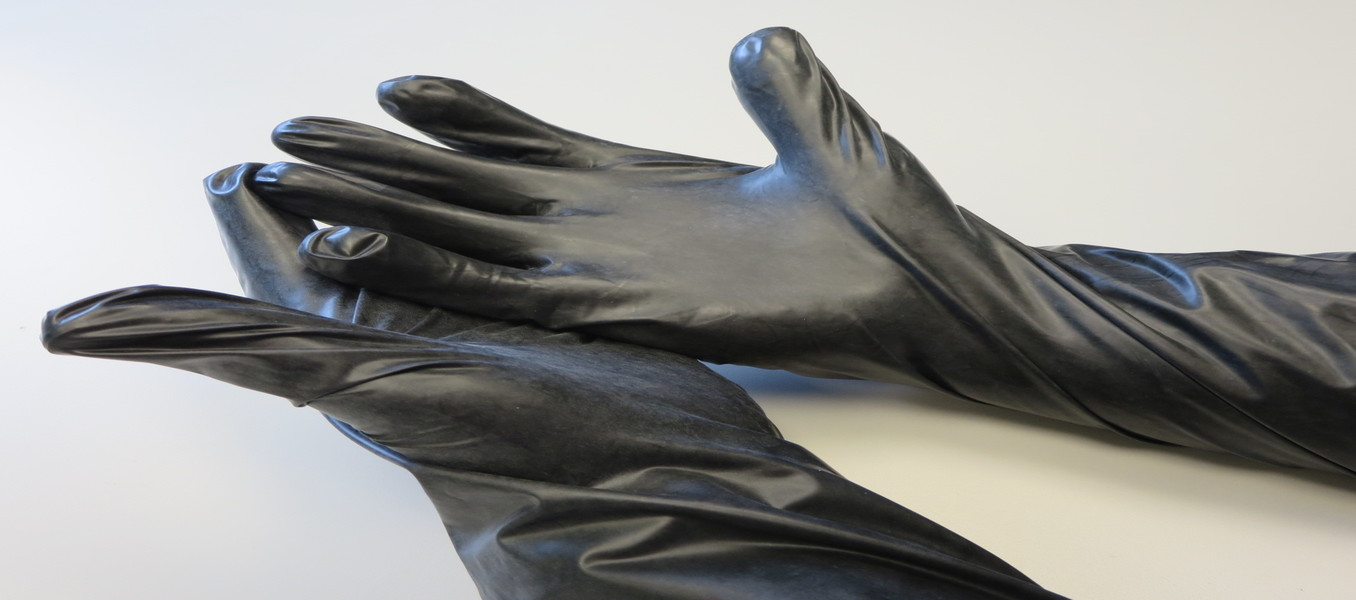 5-Mil Butyl Chemical Protection Gloves