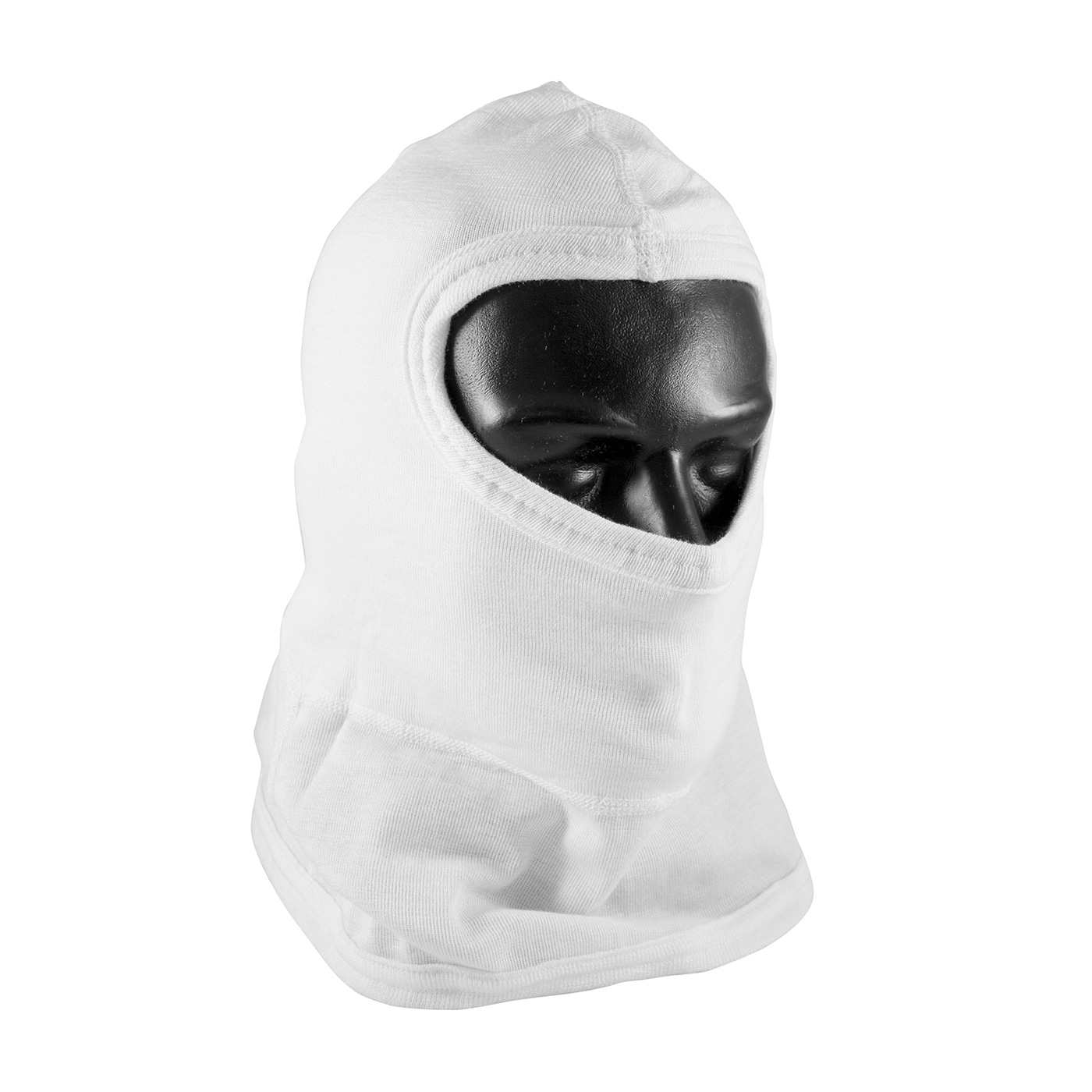 202-112 PIP® Double-Layer White Nomex® Balaclava with bib - Full Face