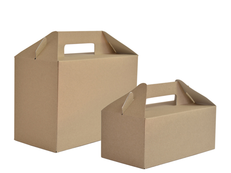 Vegware™ Compostable Kraft Carry Packs with Handles