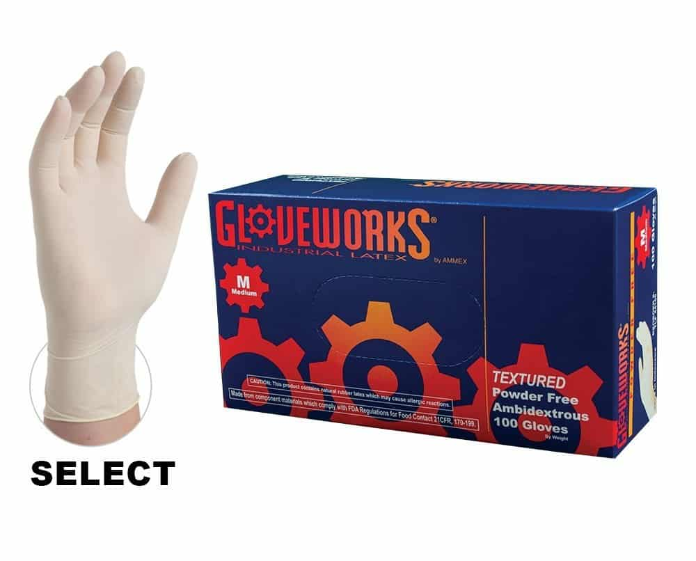 Ammex® Gloveworks Latex Gloves