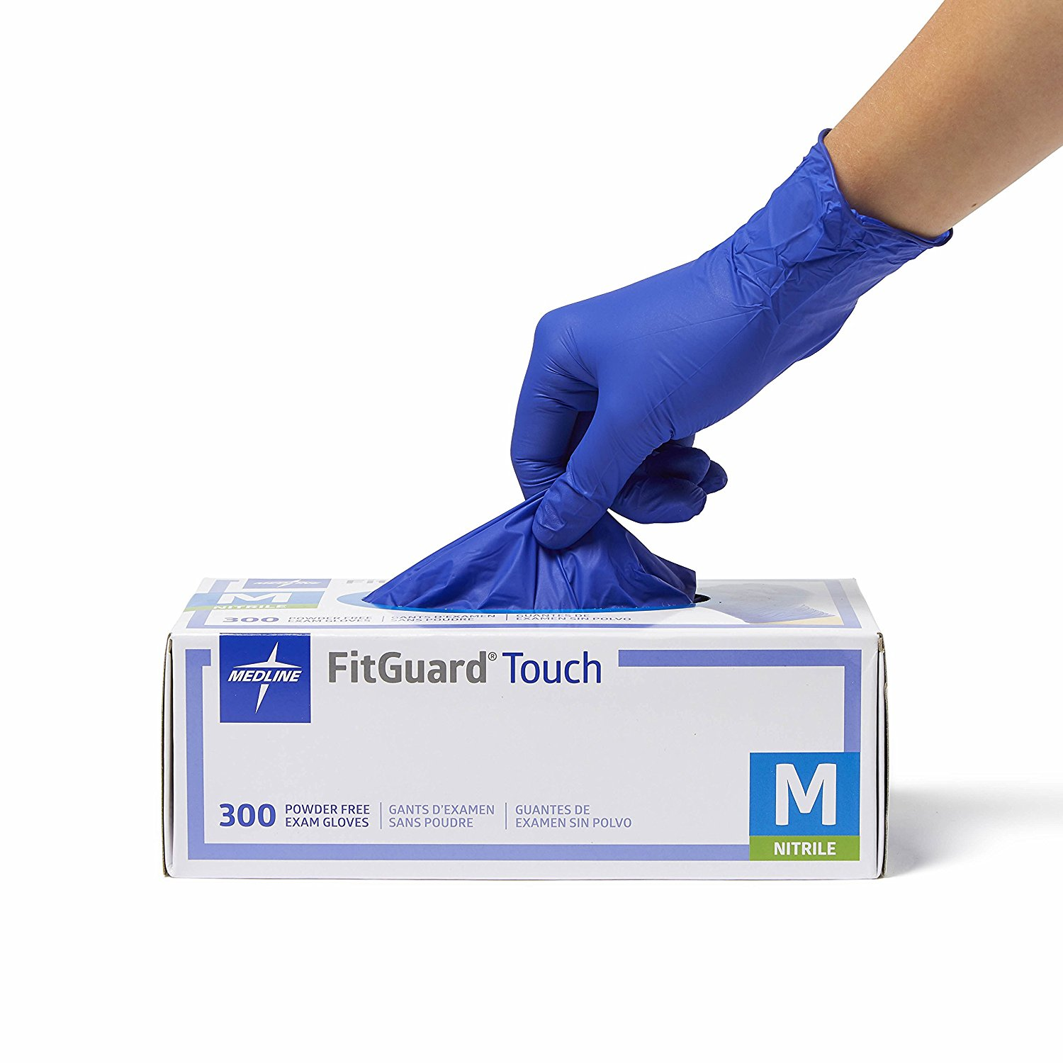 FitGuard® Touch Powder-Free Latex-Free Nitrile Exam Gloves