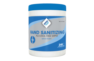 #33803 WipesPlus® Alcohol-Free FDA Approved Hand Sanitizing Wipes (240 count)