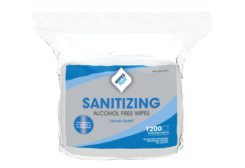 #37402 WipesPlus® Alcohol-Free FDA Approved Hand Sanitizing Wipes (1200 count)