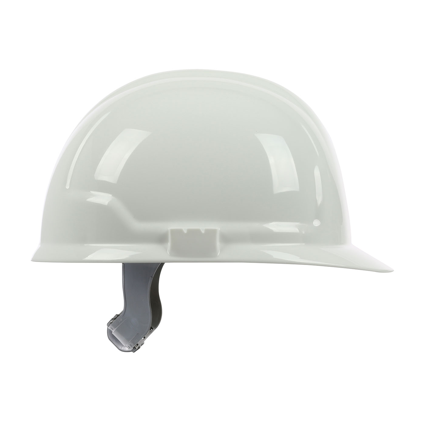 280-CS4200 PIP® 4200 Series Cap Style Hard Hat with HDPE Shell, 4-Point Polyester Suspension and Slip Ratchet Adjustment - White