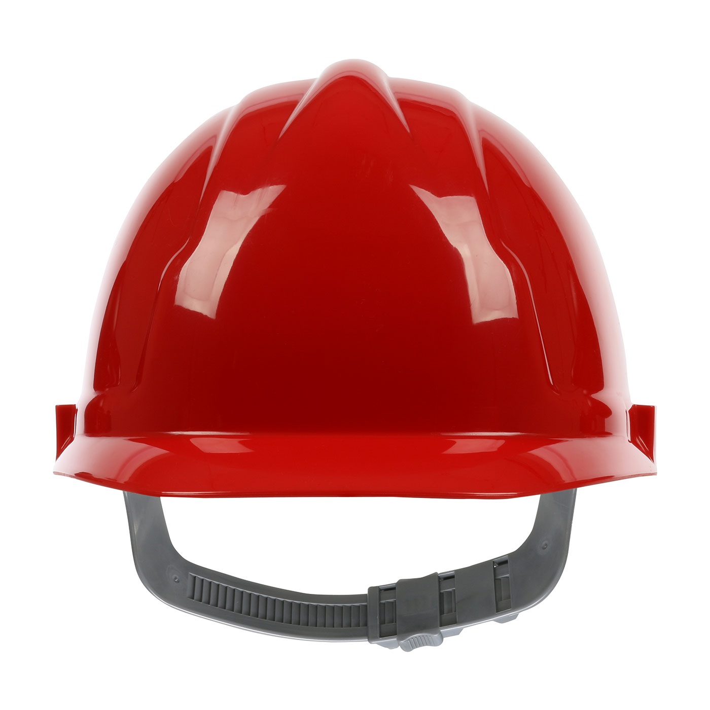 280-CS4200 PIP® 4200 Series Cap Style Hard Hat with HDPE Shell, 4-Point Polyester Suspension and Slip Ratchet Adjustment - Red