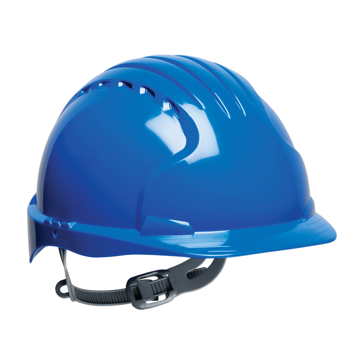 280-EV6121 PIP® JSP® Evolution® 6121 Standard Brim Type I Hard Hats - Blue