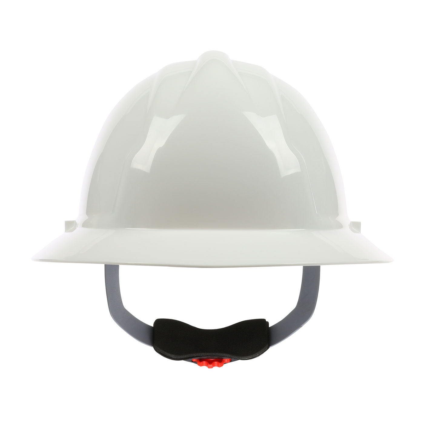 280-FBW4200 PIP® 4200 Series Full Brim Hard Hat with HDPE Shell, 4-Point Polyester Suspension and Wheel Ratchet Adjustment - White