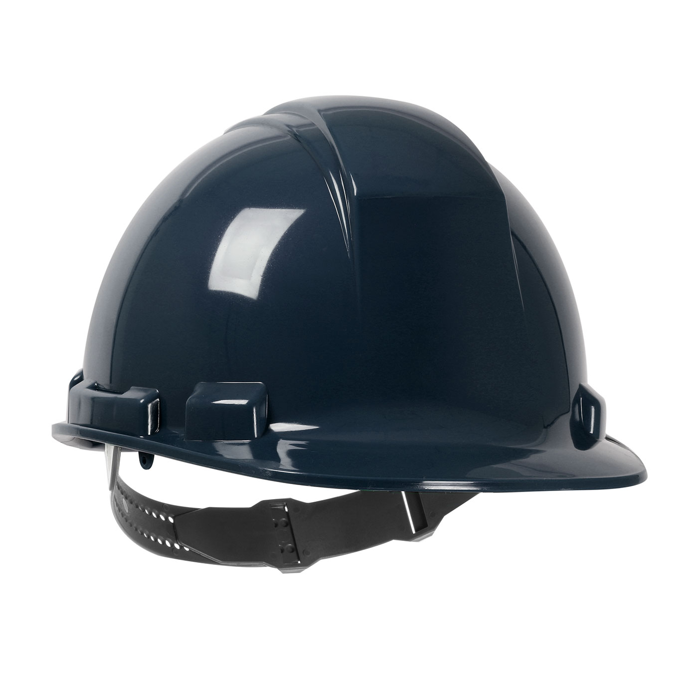 280-HP241 PIP® Dynamic Whistler™ Cap Style Hard Hat with HDPE Shell, 4-Point Textile Suspension and Pin-Lock Adjustment - Blue