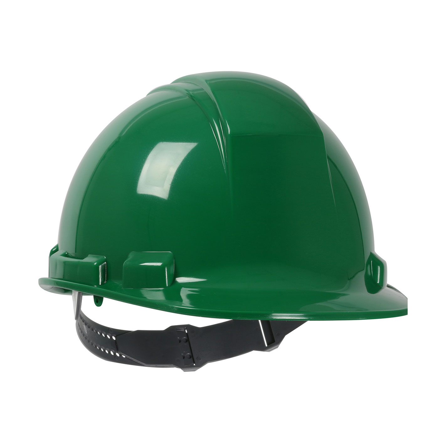 280-HP241 PIP® Dynamic Whistler™ Cap Style Hard Hat with HDPE Shell, 4-Point Textile Suspension and Pin-Lock Adjustment - Green