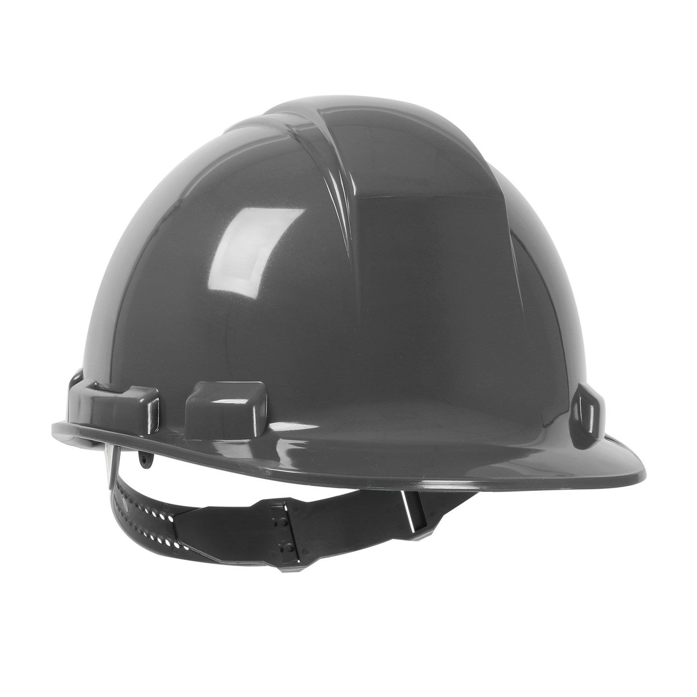 280-HP241 PIP® Dynamic Whistler™ Cap Style Hard Hat with HDPE Shell, 4-Point Textile Suspension and Pin-Lock Adjustment - Dark Gray