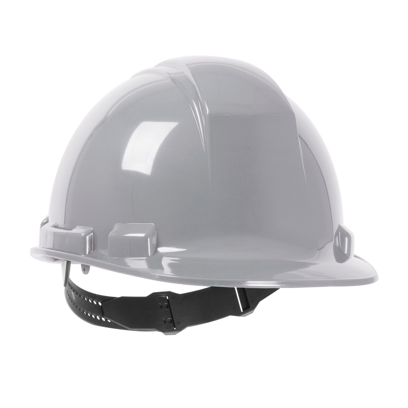 280-HP241 PIP® Dynamic Whistler™ Cap Style Hard Hat with HDPE Shell, 4-Point Textile Suspension and Pin-Lock Adjustment - Gray