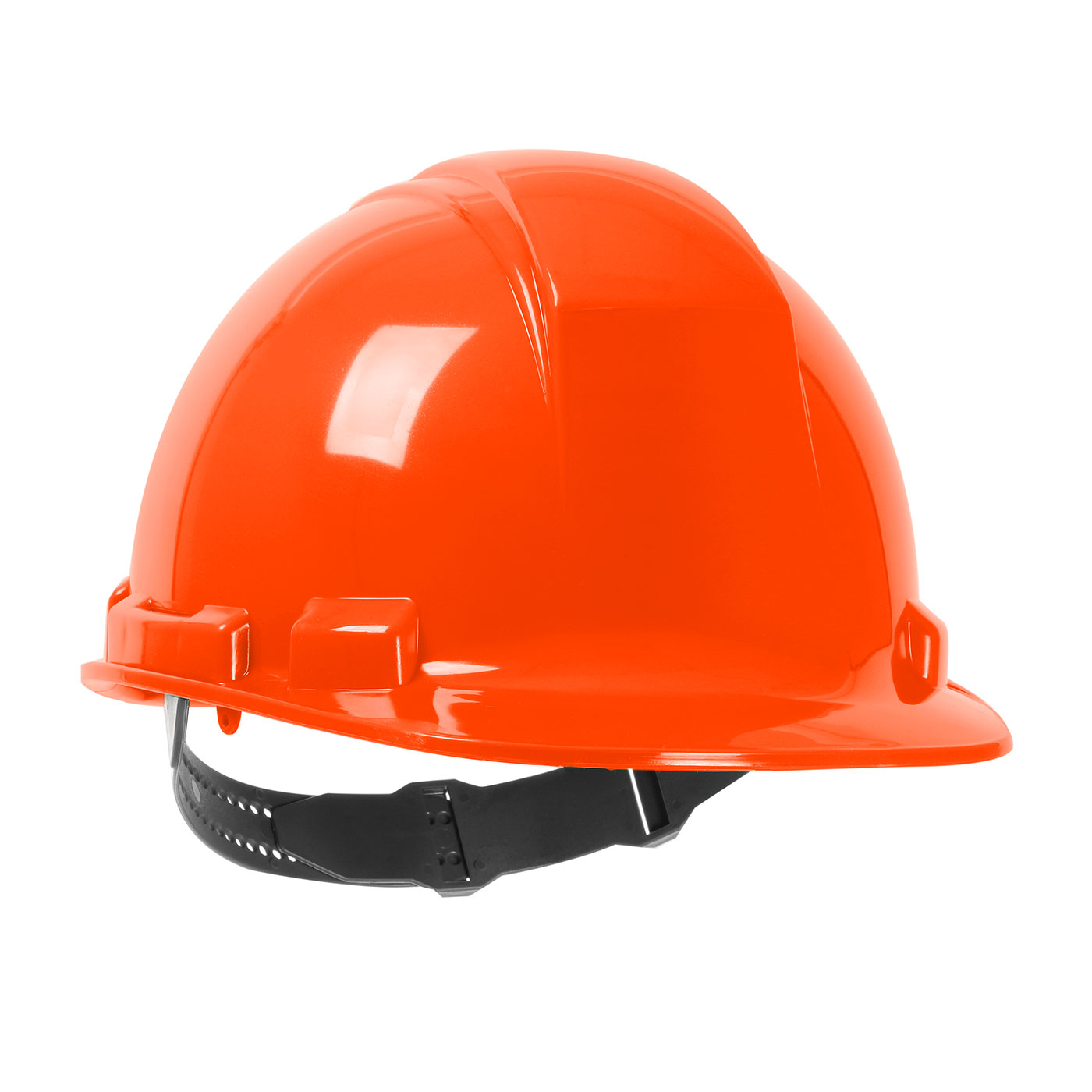 280-HP241 PIP® Dynamic Whistler™ Cap Style Hard Hat with HDPE Shell, 4-Point Textile Suspension and Pin-Lock Adjustment - Orange