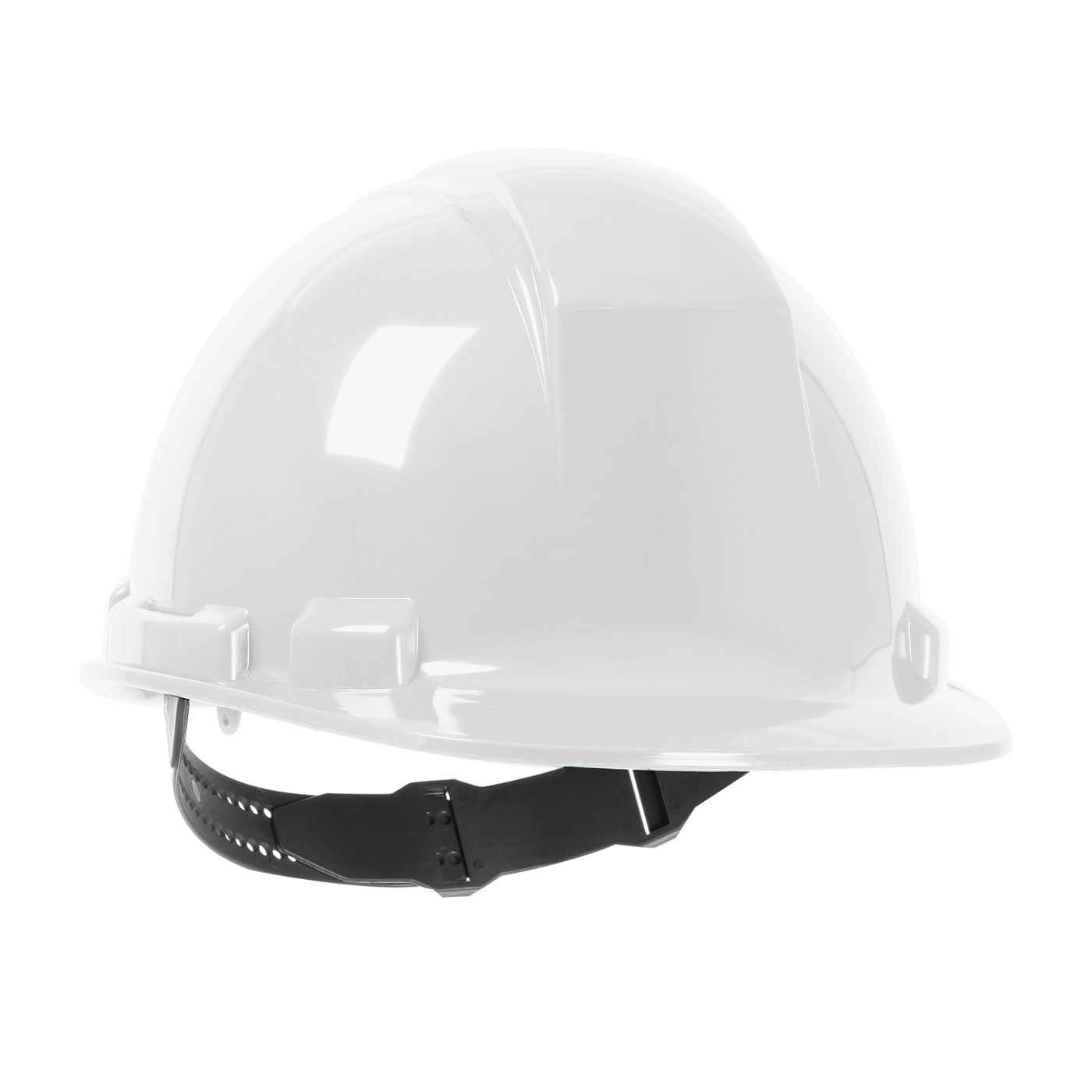 280-HP241 PIP® Dynamic Whistler™ Cap Style Hard Hat with HDPE Shell, 4-Point Textile Suspension and Pin-Lock Adjustment - White
