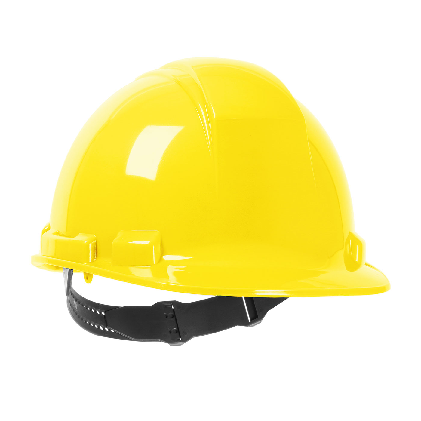 280-HP241 PIP® Dynamic Whistler™ Cap Style Hard Hat with HDPE Shell, 4-Point Textile Suspension and Pin-Lock Adjustment - Yellow