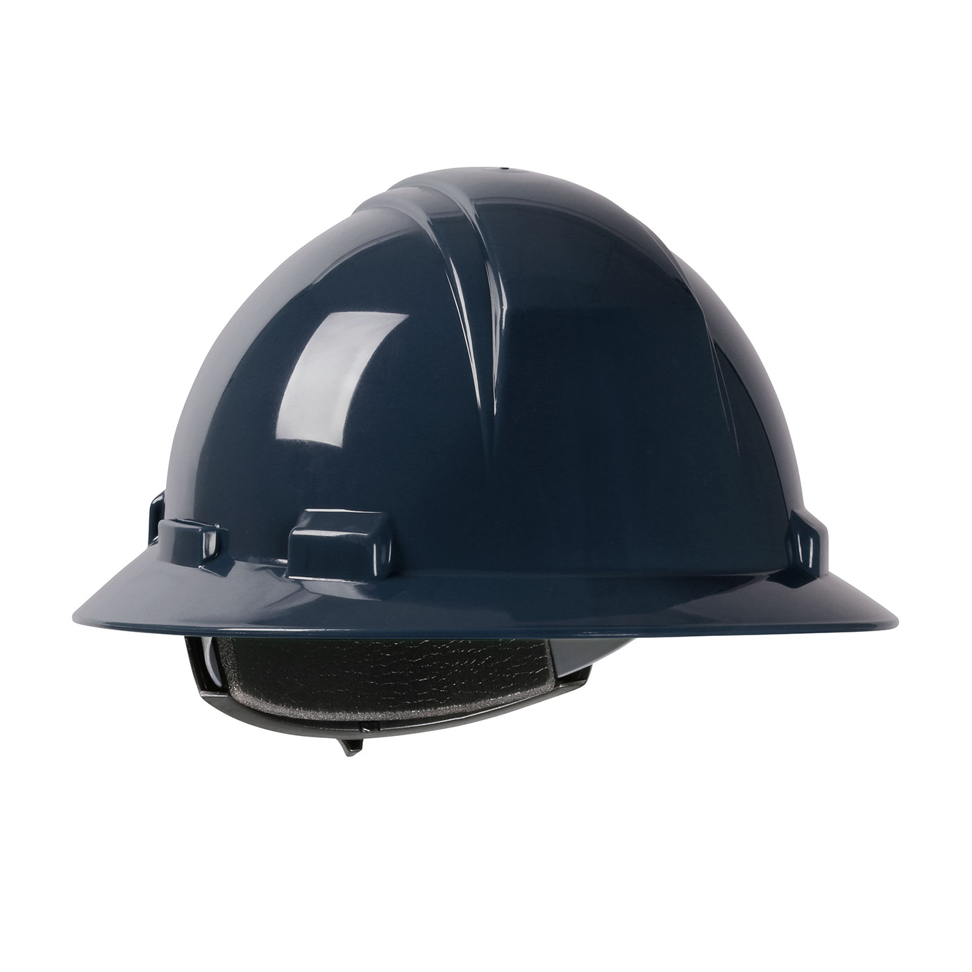 280-HP261R PIP® Dynamic Kilimanjaro™ Full Brim Hard Hat with HDPE Shell, 4-Point Textile Suspension and Wheel Ratchet Adjustment - Blue
