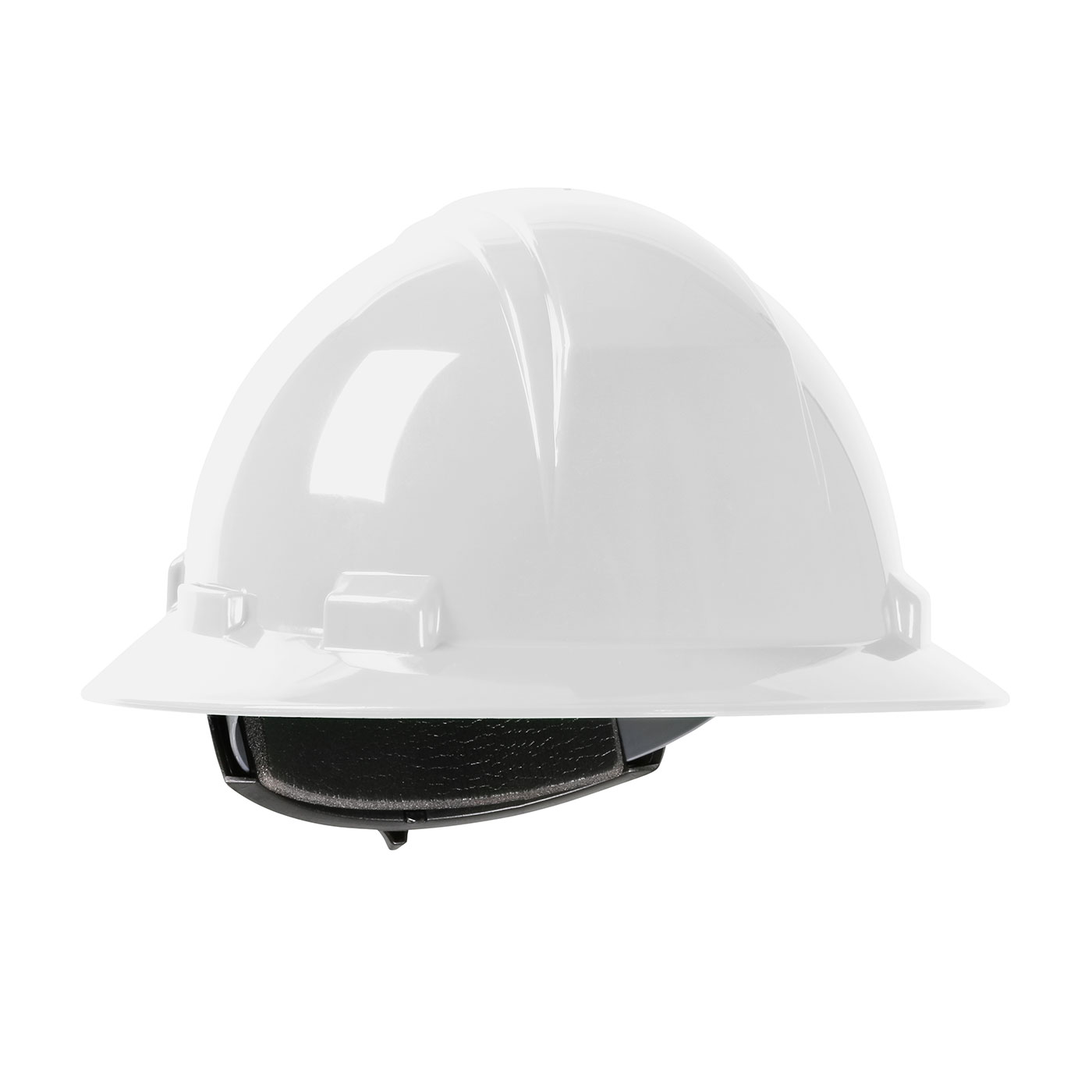 280-HP261R PIP® Dynamic Kilimanjaro™ Full Brim Hard Hat with HDPE Shell, 4-Point Textile Suspension and Wheel Ratchet Adjustment- White