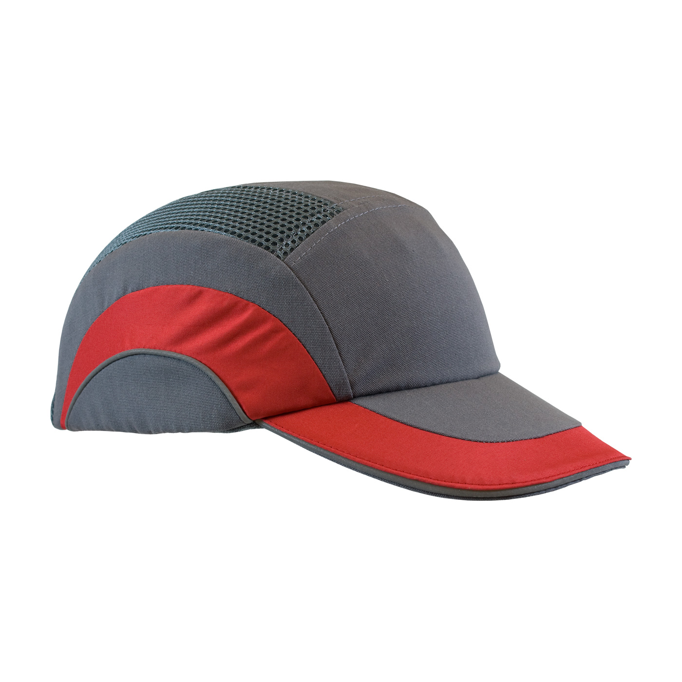 5064a7321997e HardCap A1+™ Baseball Style Bump Cap with HDPE Protective Liner and  Adjustable Back. Gray