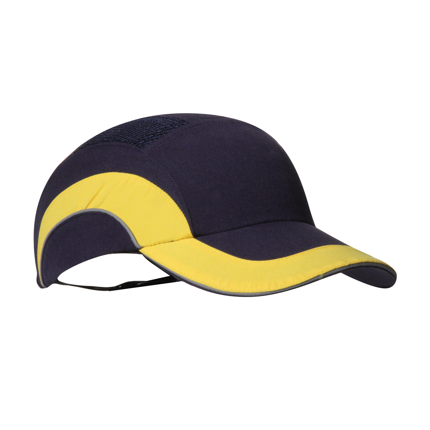 e190af0bb293e HardCap A1+™ Baseball Style Bump Cap with HDPE Protective Liner and  Adjustable Back. Navy