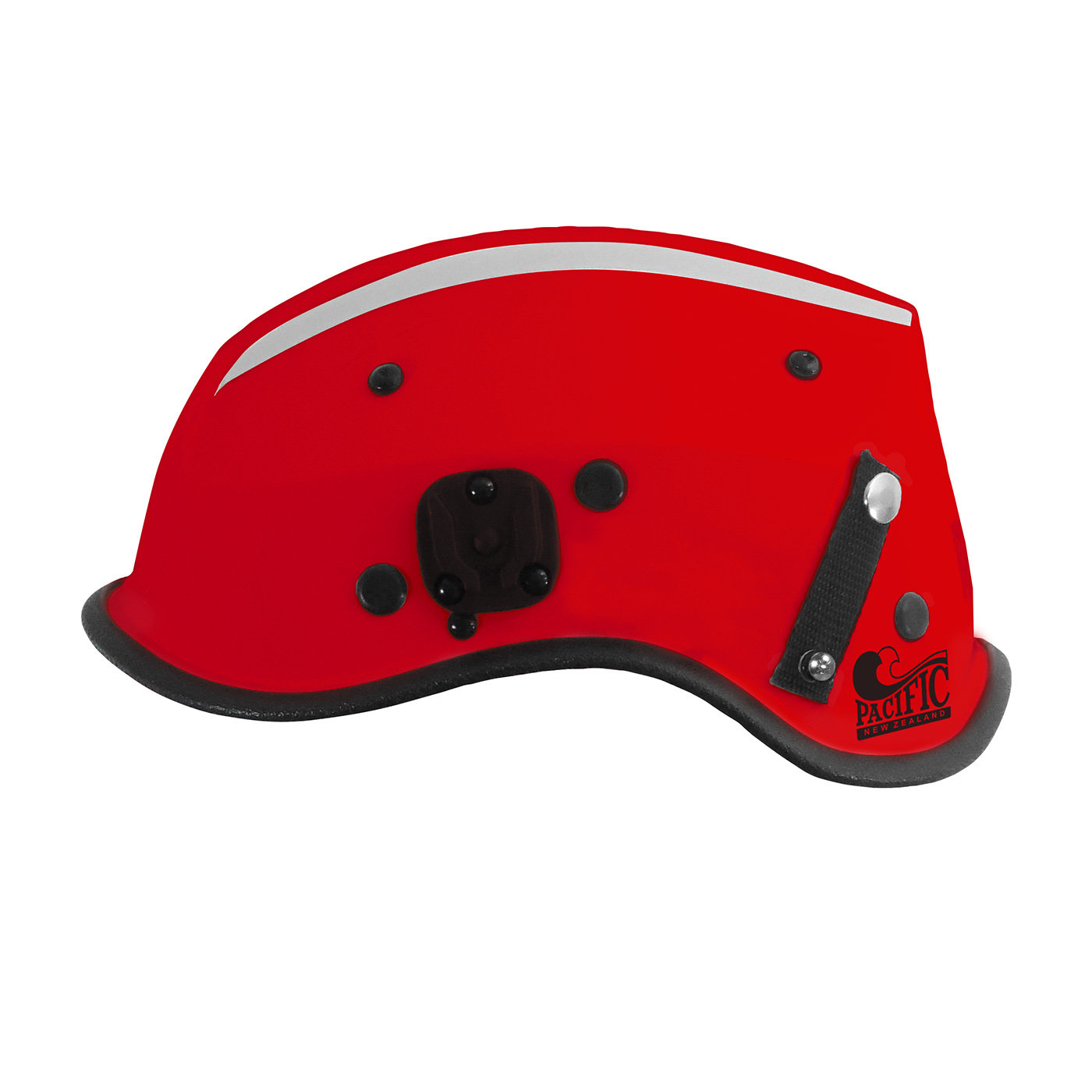 805-35XX PIP® Pacific R6C Dominator™ Non-Vented Rescue Helmet with Retractable Eye Protector, Red