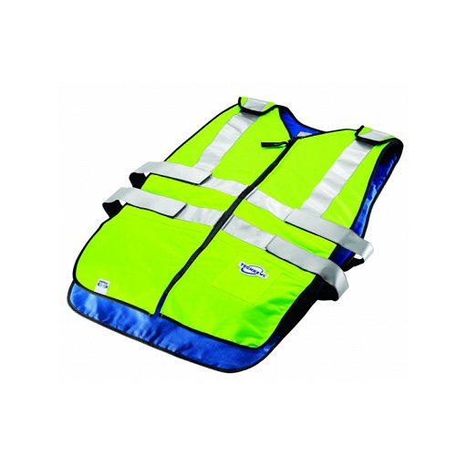 Techniche 6626-HV CoolPax™ Phase Change ANSI Class 2 Safety Evaporative Cooling Vests