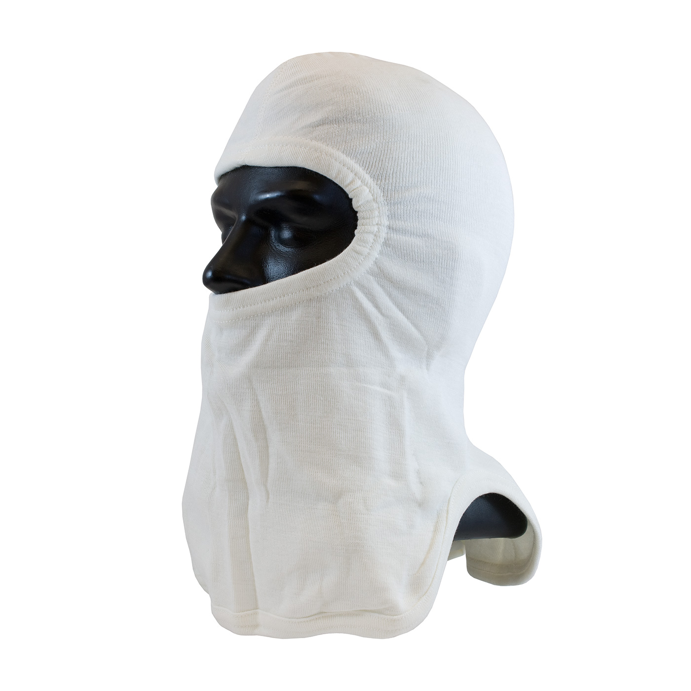 PIP® Tri-Cut White Nomex® / Lenzing FR Hood with Tri-Cut Design - Full Face #906-2080NOL7