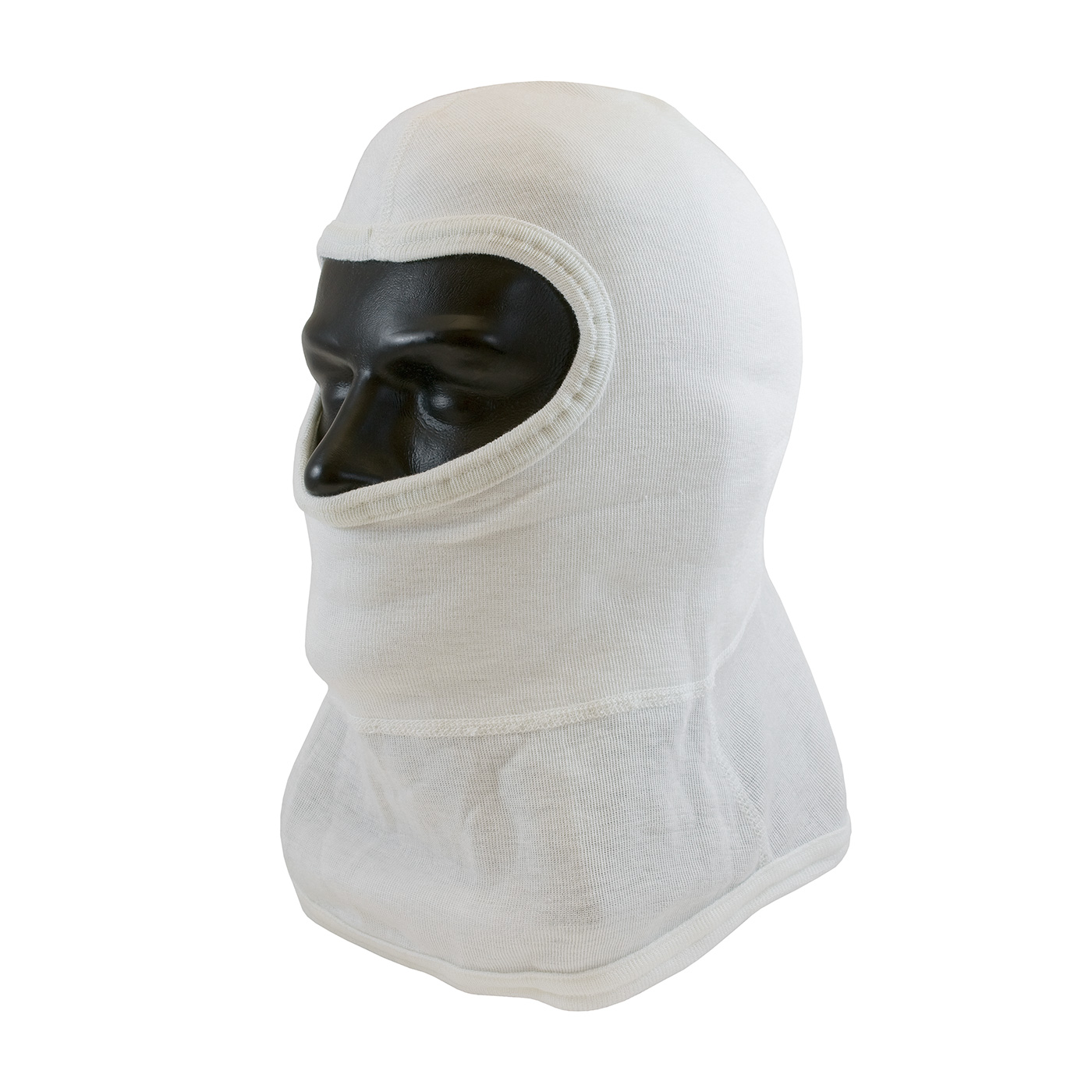 PIP® White Nomex® / Lenzing FR Hood with Straight-Cut Design - Full Face #906-2080NOL7B