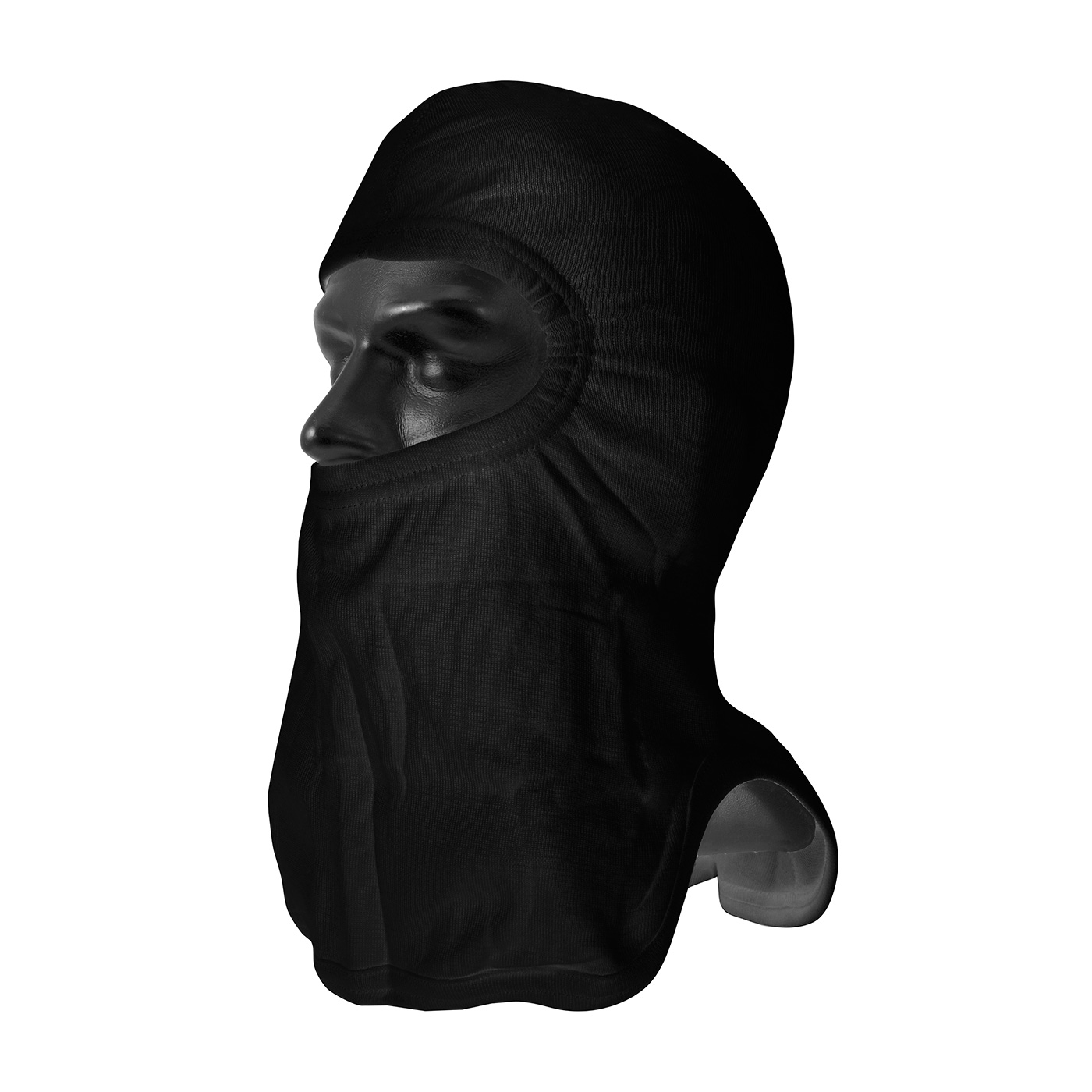PIP® Black Nomex® / Lenzing FR Hood with Tri-Cut Design - Full Face #906-2080NOL7BLK