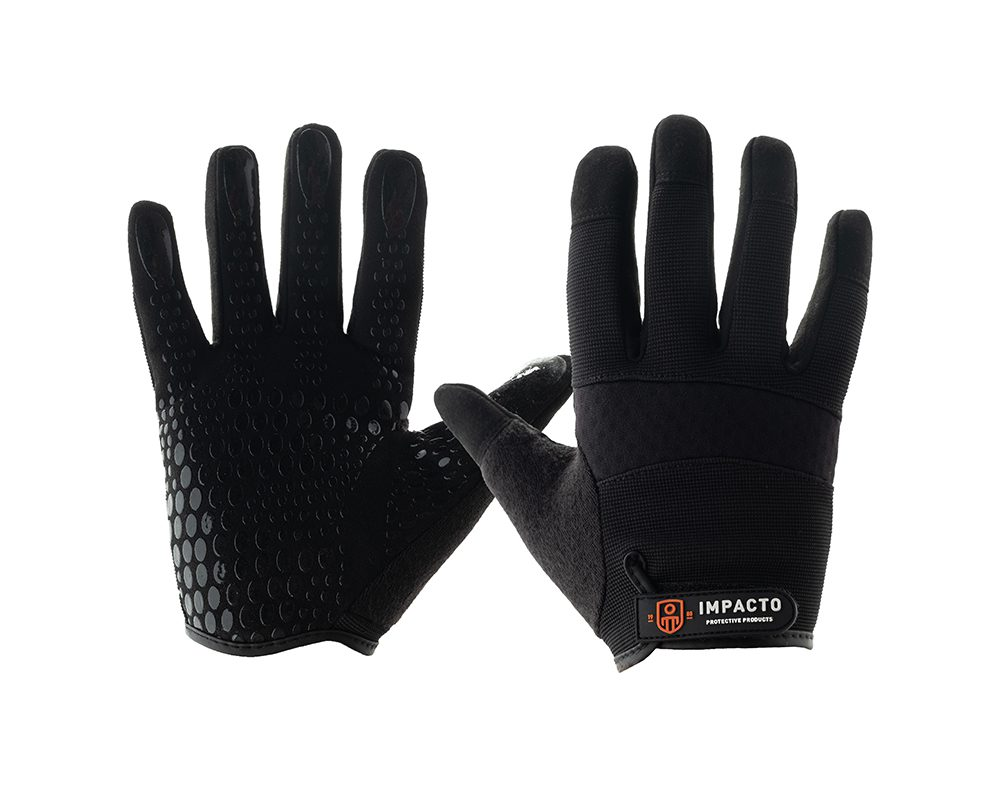 #WG408 Impacto® Mechanic Style Work Gloves