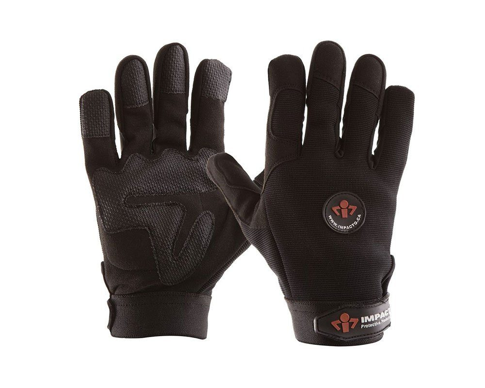#AV408 Impacto® Anti-Impact Full Finger Mechanic gloves