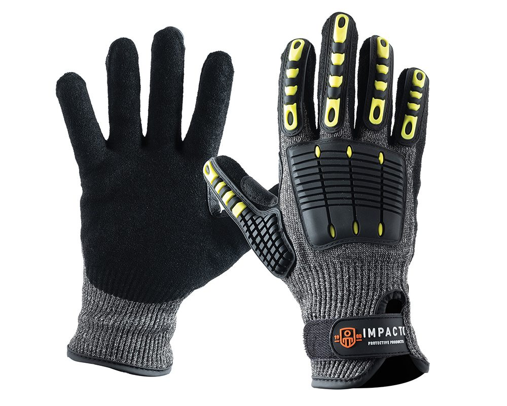 #NS29200 Impacto® Back Tracker Blade A5 Anti-Slash Impact Resistant Work Safety Gloves