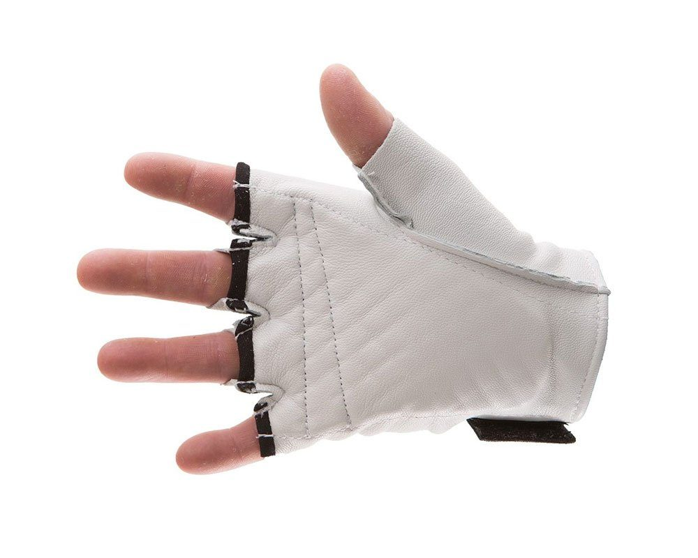 #460-30 Impacto® Pearl Leather - Construction half finger, all heavy pearl leather