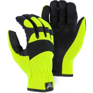 2136HY Majestic® Armor Skin™ Mechanics Glove with High Visibility Knit Back