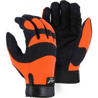 2137HO Majestic® Armor Skin™ Mechanics Glove with High Visibility Knit Back