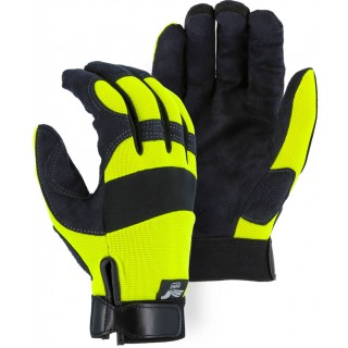 2137HY Majestic® Armor Skin™ Mechanics Glove with High Visibility Knit Back