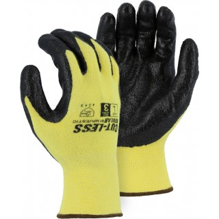 3227 Majestic® Cut-Less Kevlar® 13-Gauge A2 Knit Gloves with Foam Nitrile Palm Coating