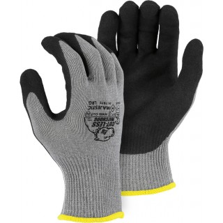 35-7675 Majestic® Touch Screen Capable Cut-Less Watchdog® Glove with Sandy Nitrile Palm