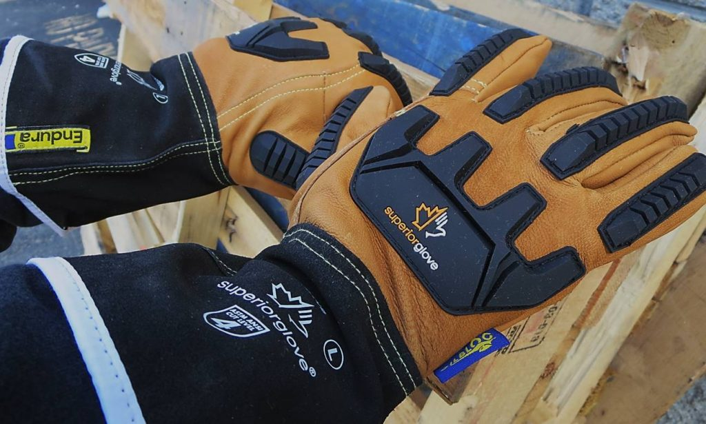 375KGTVB Superior Glove® Endura® Oilbloc™ Winter Anti-Impact Driver Gloves