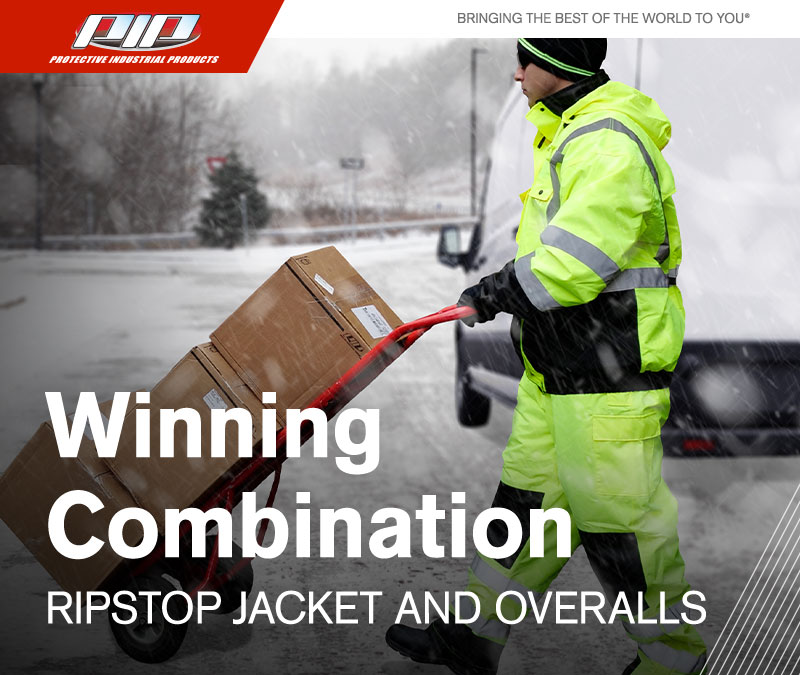 Cold Weather Ripstop Jacket and Overalls