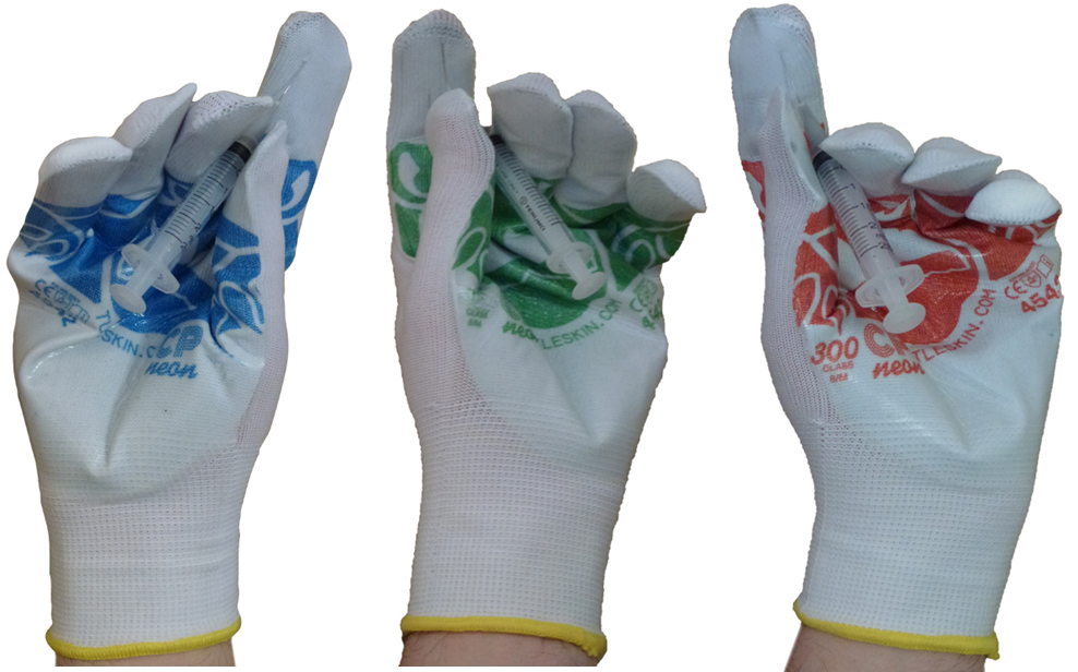TurtleSkin® CP Neon Insider Gloves
