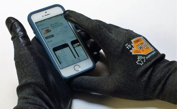 Touchscreen Compatible Work Gloves