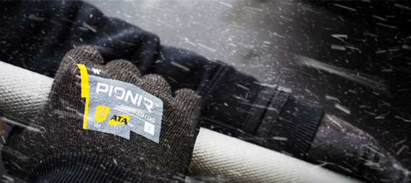 ATA PIONIR Heat Producing Cut Resistant Outdoor Work Gloves