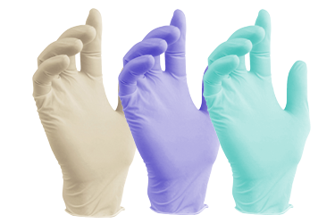 Image of Single-Use Latex Free Nitrile Gloves