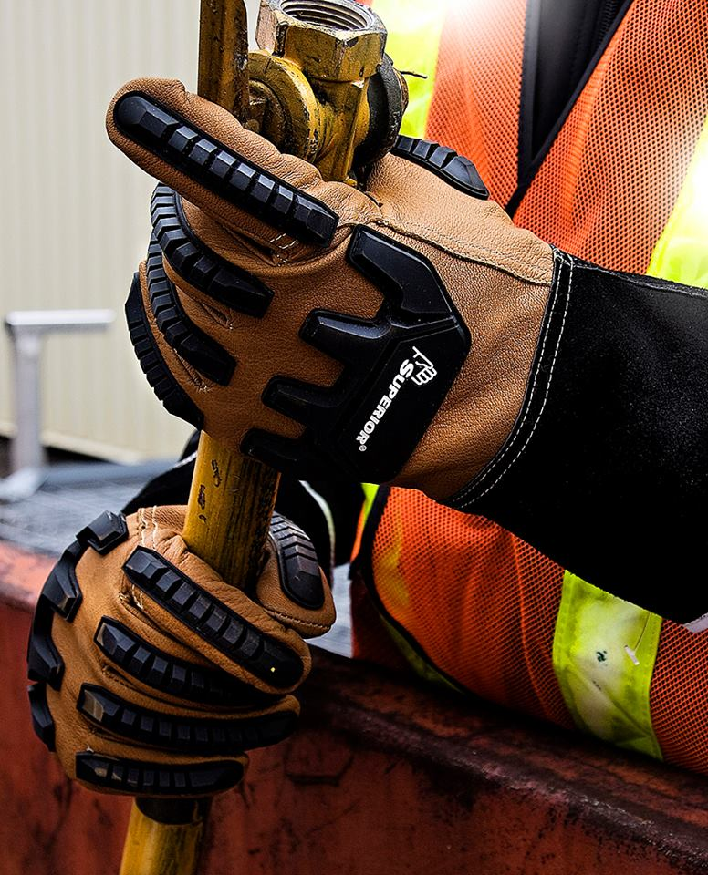 Impact Resistant Industrial Work Safety Gloves