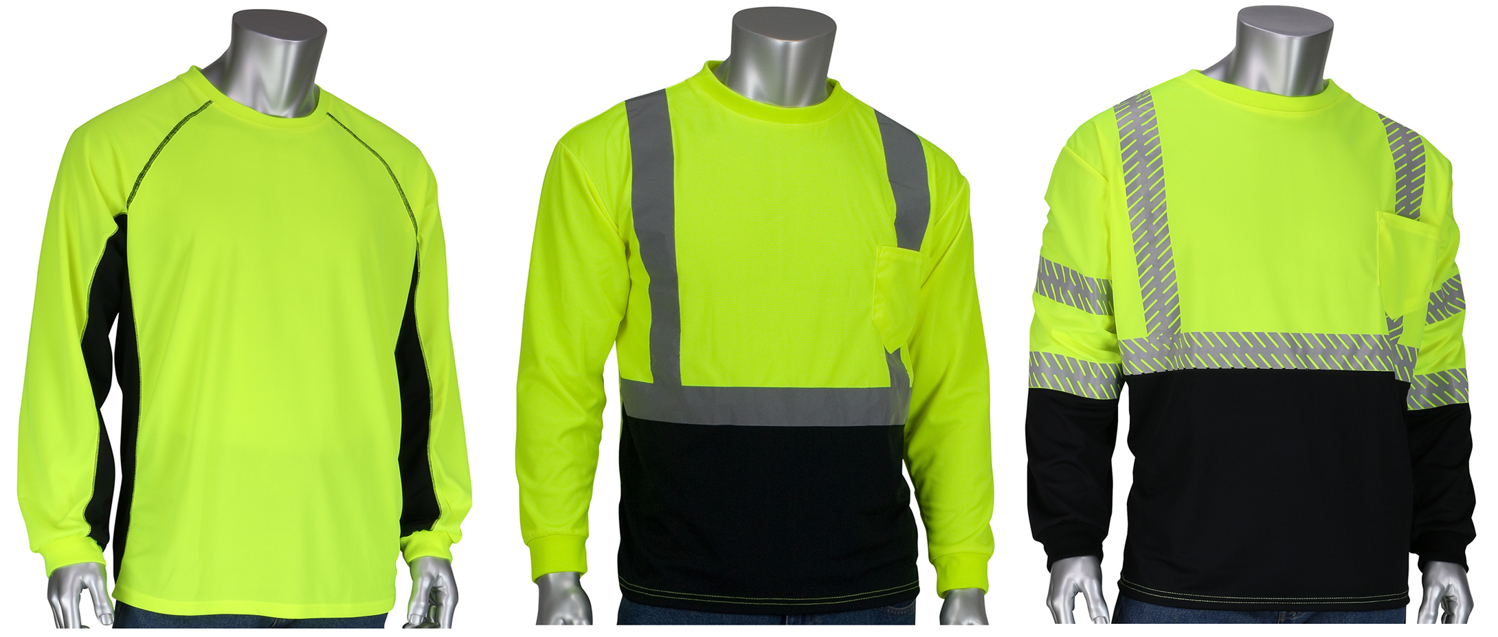 Hi-Viz Sun Blocking T-Shirts with Built-In Insect Repellent