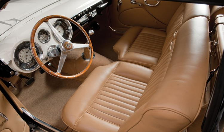 Image of AClassic utomobile Interior