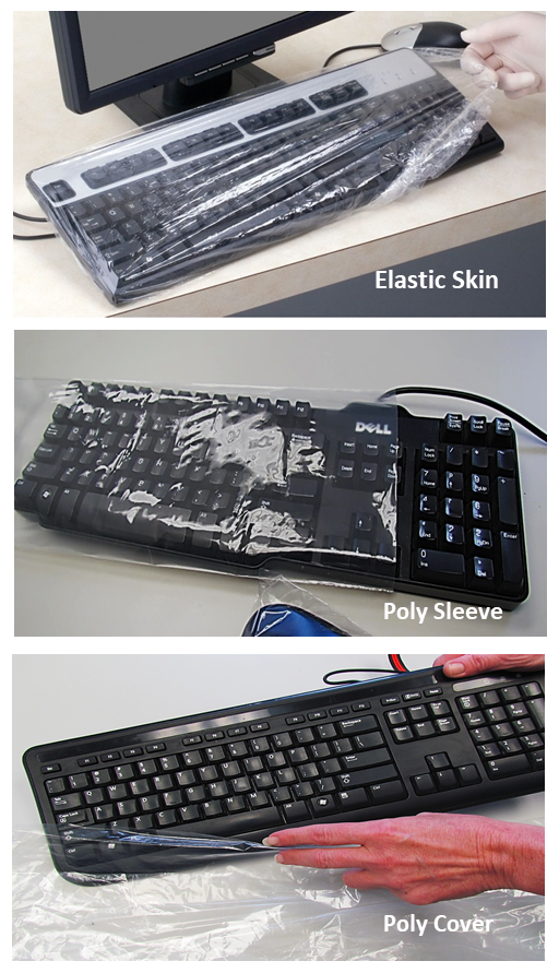 Disposable Protective Keyboard Covers, Sleeves and Skins