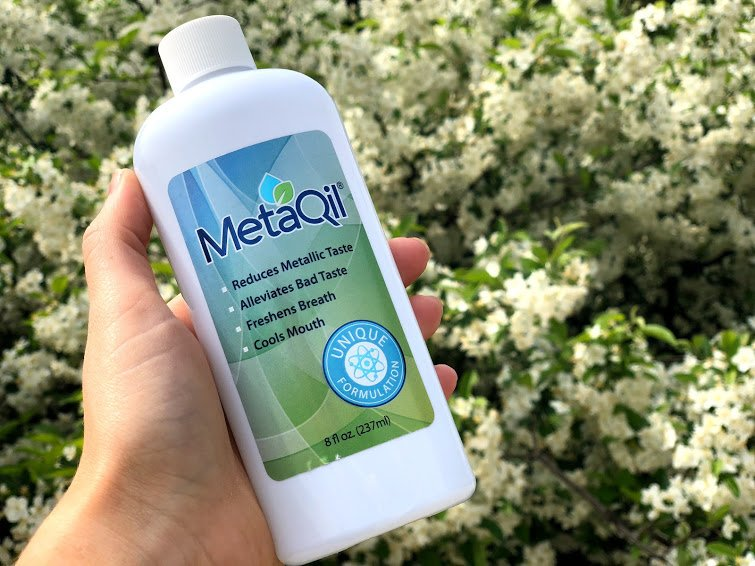 The First of Its Kind | MetaQil® Oral Rinse : Rid Metallic Taste