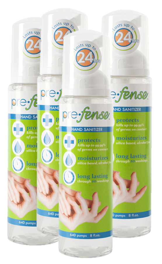 Prefense Surface and Hand Sanitizer