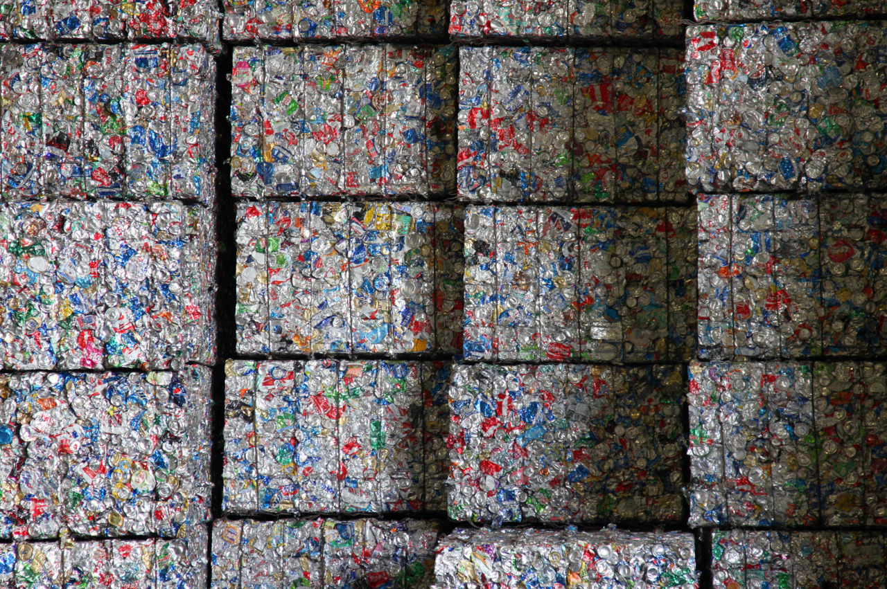 Bales of Plastics Deemed Non-Recyclable
