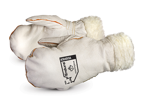 Superior Glove®  Endura® Winter Chopper Cowgrain Mitts